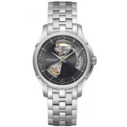 Hamilton Мужские Часы Jazzmaster Open Heart Auto Viewmatic H32565185