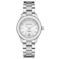 Купить Hamilton Женские Часы Jazzmaster Seaview Quartz H37411111