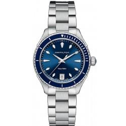 Купить Hamilton Женские Часы Jazzmaster Seaview Quartz H37451141