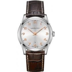 Hamilton Мужские Часы Jazzmaster Thinline Quartz H38511513