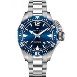 Hamilton Мужские Часы Khaki Navy Frogman Auto H77705145
