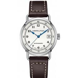 Купить Hamilton Женские Часы Khaki Navy Pioneer Auto H78215553