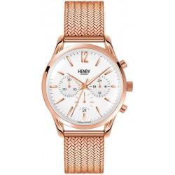 Купить Henry London Унисекс Часы Richmond HL39-CM-0034 Кварцевый Хронограф