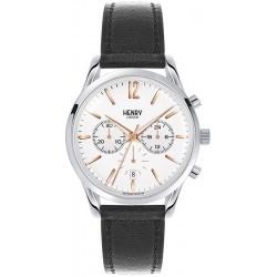 Купить Henry London Унисекс Часы Highgate HL39-CS-0009 Кварцевый Хронограф