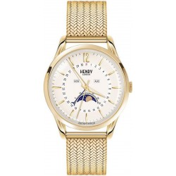 Купить Henry London Унисекс Часы Westminster HL39-LM-0160 Moonphase Quartz