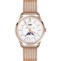 Купить Henry London Унисекс Часы Richmond HL39-LM-0162 Moonphase Quartz