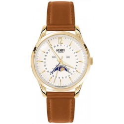 Купить Henry London Унисекс Часы Westminster HL39-LS-0148 Moonphase Quartz