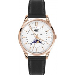 Купить Henry London Унисекс Часы Richmond HL39-LS-0150 Moonphase Quartz
