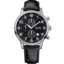 Купить Hugo Boss Мужские Часы Aeroliner 1512448 Кварцевый Хронограф