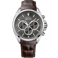 Купить Hugo Boss Мужские Часы 1513035 Кварцевый Хронограф