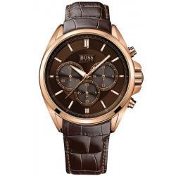 Купить Hugo Boss Мужские Часы 1513036 Кварцевый Хронограф