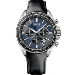 Купить Hugo Boss Мужские Часы 1513077 Кварцевый Хронограф