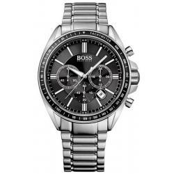 Купить Hugo Boss Мужские Часы 1513080 Кварцевый Хронограф