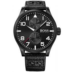Купить Hugo Boss Мужские Часы Aeroliner 1513083 Многофункциональный