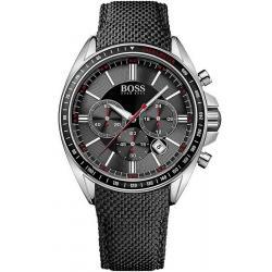 Купить Hugo Boss Мужские Часы 1513087 Кварцевый Хронограф