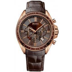Купить Hugo Boss Мужские Часы 1513093 Кварцевый Хронограф