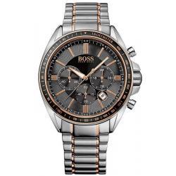 Купить Hugo Boss Мужские Часы 1513094 Кварцевый Хронограф