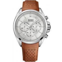 Купить Hugo Boss Мужские Часы 1513118 Кварцевый Хронограф