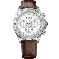 Купить Hugo Boss Мужские Часы Ikon 1513175 Кварцевый Хронограф