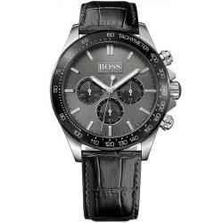 Купить Hugo Boss Мужские Часы Ikon 1513177 Кварцевый Хронограф