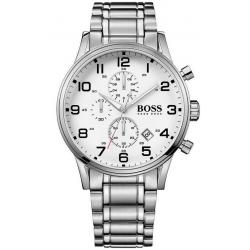 Купить Hugo Boss Мужские Часы Aeroliner 1513182 Кварцевый Хронограф