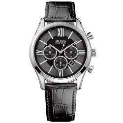 Купить Hugo Boss Мужские Часы Ambassador 1513194 Кварцевый Хронограф