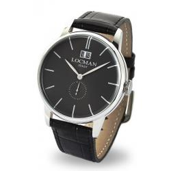 Locman Мужские Часы 1960 Gran Data Quartz 0252V01-00BKNKPK