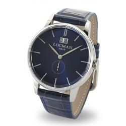 Купить Locman Мужские Часы 1960 Gran Data Quartz 0252V02-00BLNKPB
