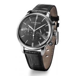 Купить Locman Мужские Часы 1960 Кварцевый Хронограф 0254A01A-00BKNKPK