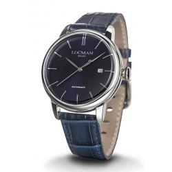 Купить Locman Мужские Часы 1960 Автоматический 0255A02A-00BLNKPB
