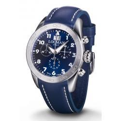 Купить Locman Мужские Часы Isola d'Elba Кварцевый Хронограф 0460A02-00BLWHPB