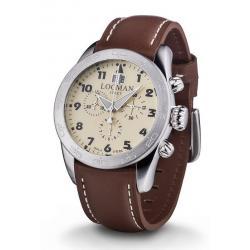 Купить Locman Мужские Часы Isola d'Elba Кварцевый Хронограф 0460A04-00AVBKPN