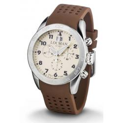 Locman Мужские Часы Isola d'Elba Кварцевый Хронограф 0460A04-00AVBKSN