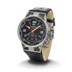 Купить Locman Мужские Часы Montecristo World Dual Time Quartz 0508A01S-00BKWHPK