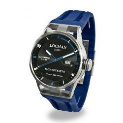 Купить Locman Мужские Часы Montecristo Автоматический 051100BKFBL0GOB