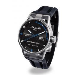 Купить Locman Мужские Часы Montecristo Автоматический 051100BKFBL0GOK