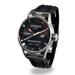 Купить Locman Мужские Часы Montecristo Автоматический 051100BKFRD0GOK