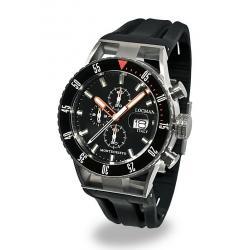 Купить Locman Мужские Часы Montecristo Professional Diver Хронограф 051200KOBKNKSIK