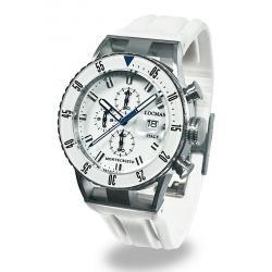 Купить Locman Мужские Часы Montecristo Professional Хронограф 051200WBWHNKSIW