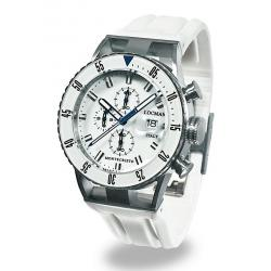 Locman Мужские Часы Montecristo Professional Хронограф 051200WBWHNKSIW
