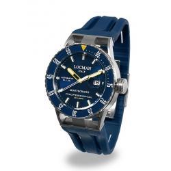 Купить Locman Мужские Часы Montecristo Professional Diver Автоматический 051300BYBLNKSIB