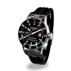 Купить Locman Мужские Часы Montecristo Professional Diver Автоматический 051300KRBKNKSIK
