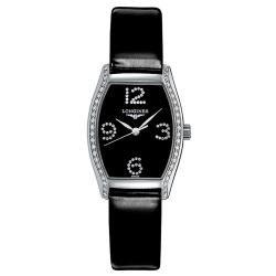 Купить Longines Женские Часы Evidenza L21550572 Бриллианты Quartz