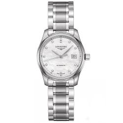 Купить Longines Женские Часы Master Collection L22574876 Бриллианты Перламутр Автоматический