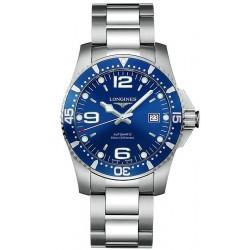Купить Longines Мужские Часы Hydroconquest L36424966 Автоматический