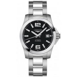 Купить Longines Мужские Часы Conquest L36764586 Автоматический