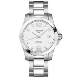 Купить Longines Мужские Часы Conquest L36774766 Автоматический