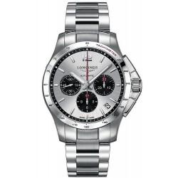 Купить Longines Мужские Часы Conquest L36974066 Автоматический Хронограф