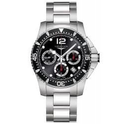 Купить Longines Мужские Часы Hydroconquest L37444566 Автоматический Хронограф
