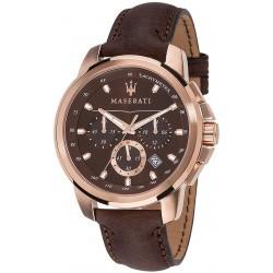 Maserati Мужские Часы Successo R8871621004 Кварцевый Хронограф